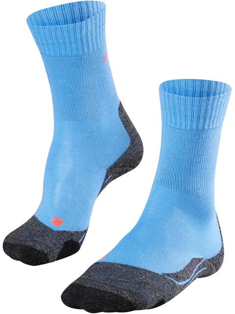 Falke TK2 Trekking Socks Women blue note